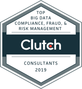 cBEYONData Ranked #1 and # 4 by Clutch - Top Big Data Compliance, Fraud and Risk Management