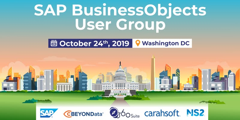 cBEYONData Attending SAP BusinessObjects Federal User Group in Washington DC