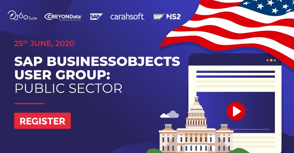 cBEYONData Sponsoring SAP BusinessObjects User Group: Public Sector