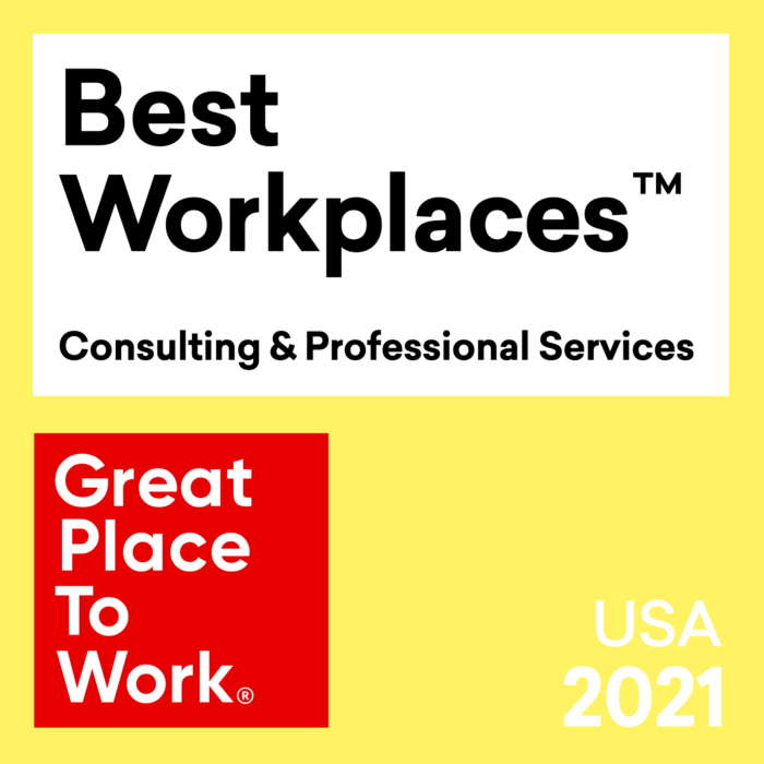 Great Place to Work Names cBEYONData One of the 2021 Best Workplaces in Consulting & Professional Services
